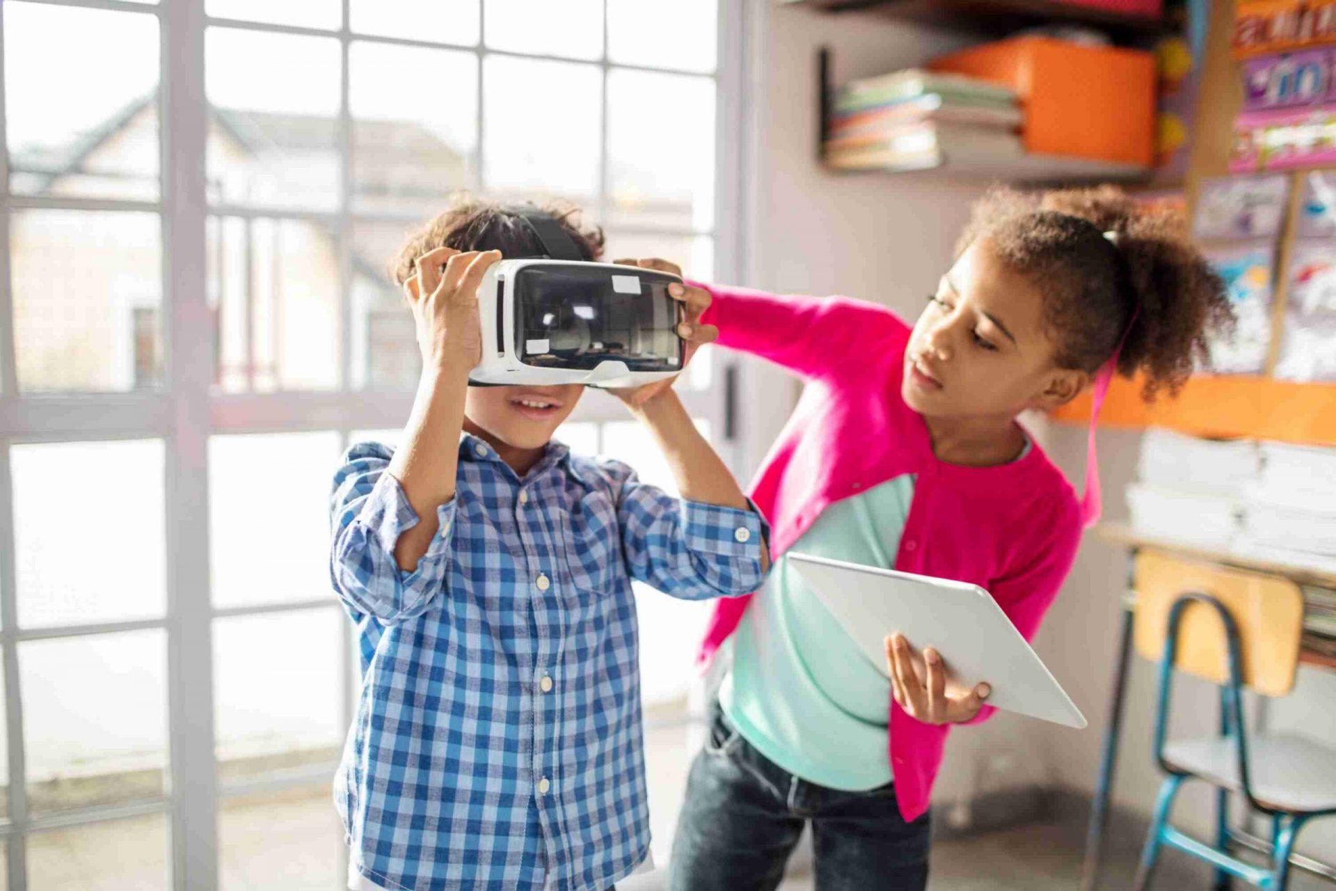 realidade virtual para crianças