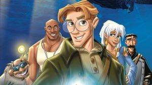 Filme infantil Atlantis: o Reino Perdido