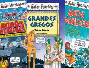 Filmes e livros para crianças Saber Horrível