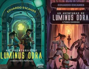 Livro infantil As Aventuras de Luminus Odra