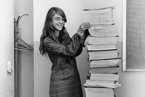 mulheres na ciência Margaret Hamilton